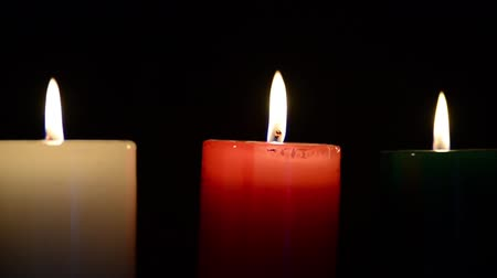 red symbol : Lit Candles.