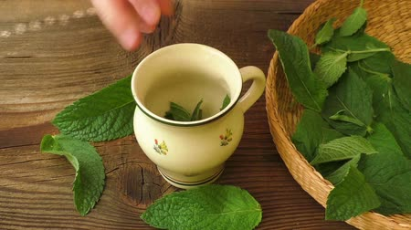 fodormenta : Healthy herb tea preparations. Fresh Made Mint Tea