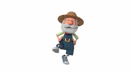 caricatura : 3D Animation of the Peasant Dances in Overalls
