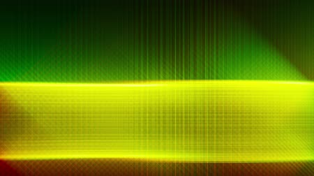 alacsonyabb : Abstract lower third background animation video loop. Green, yellow and red colors. Perfectly loopable to use as background for other elements like text. Techology, news, corporate use. Stock mozgókép