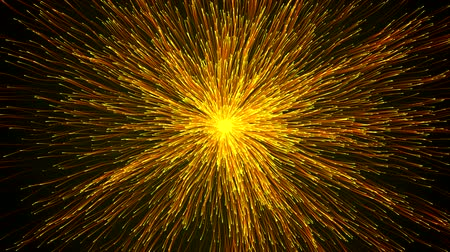 magical : magical energy particles swarm Stock Footage