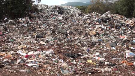 Landfill in the country