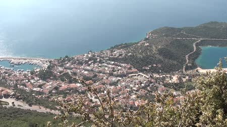Panorama of Kas Turkey