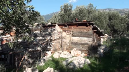 навес : Deserted hut on Lycian way