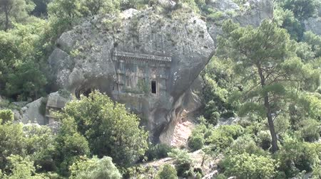 relict : Ancient Temple in rocks zoom in