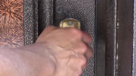 Door locking with keys