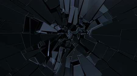 szemüveg : Glass fracturing with a transparent alpha channel facing ratio.