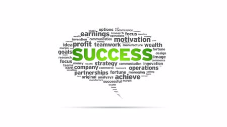 thema : Success Speech Bubble