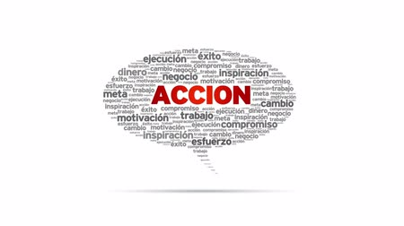 motivar : Accion Speech Bubble