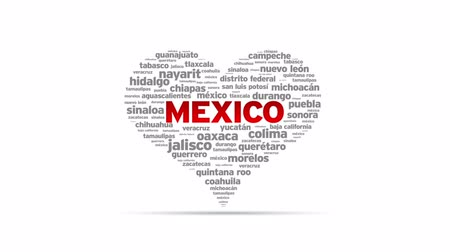 meksyk : I love Mexico Spinning Heart
