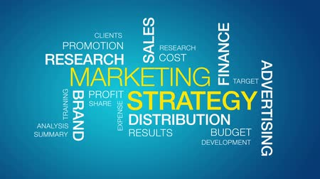 scopo : Strategia di marketing Filmati Stock