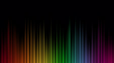 градиент : Aurora Rainbow Looping Background