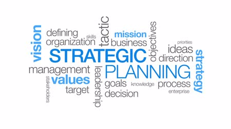 estratégico : Strategic Planning Stock Footage