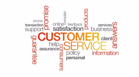 qualidade : Customer Service Stock Footage