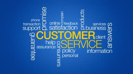 business values : Customer Service Stock Footage