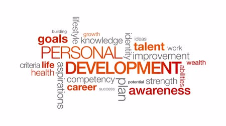 gelişme : Personal Development Stok Video