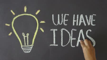 inventing : We have Ideas Stock Footage