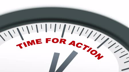 motivasyonel : Ticking Time for Action Clock