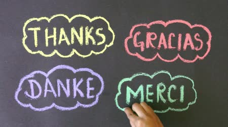 ação de graças : Thanks in different languages