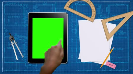 prezentaci : Hand Gestures on a Tablet with Green Screen