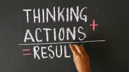 inspiração : Thinking, Actions, Results Summation
