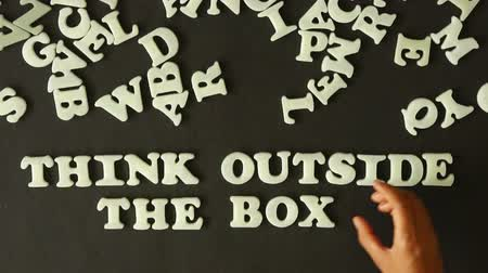 de brainstorming : Think outside the box