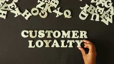 excelência : Customer Loyalty Stock Footage