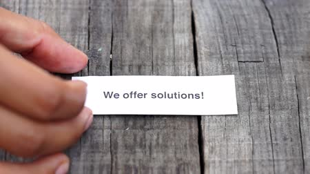 gestão : We offer solutions
