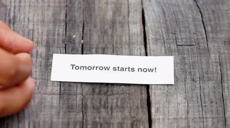 motivasyonel : Tomorrow starts now