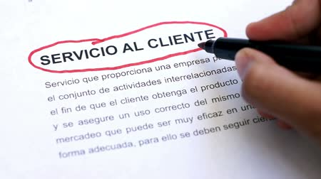 slib : Circling Customer Service with a pen (In Spanish) Dostupné videozáznamy