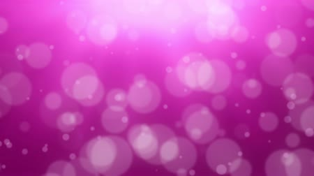 боке : Pink Bokeh Dot Background Стоковые видеозаписи