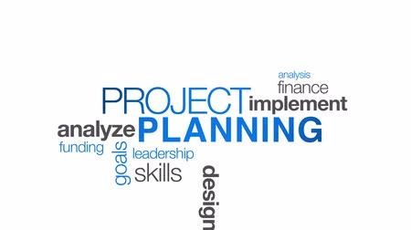 projects : Project Planning Stock Footage