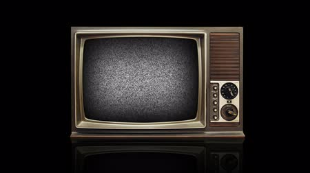 news tv : Retro Television with Alpha Matte and Green Screen