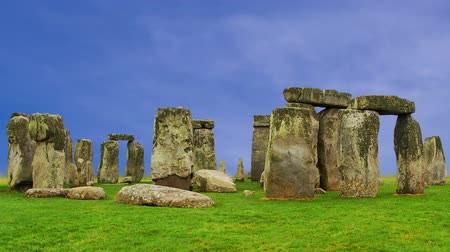 ruhanilik : Stonehenge Cloud Timelapse Stok Video