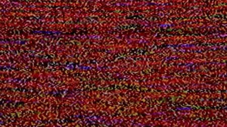 No signal, television static noise