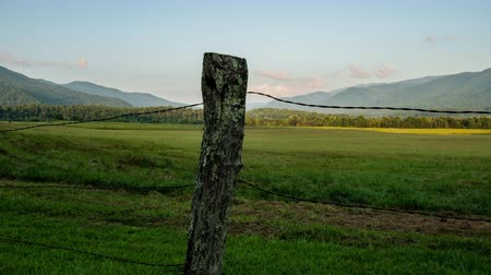 Time Lapse of Cades Cove Fence in Great Smoky Mountains