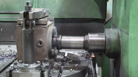 flange : Plant. Engineering production. Stock Footage