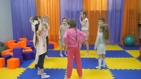 pré escolar : Childrens playroom. Studio entertainment for young children.