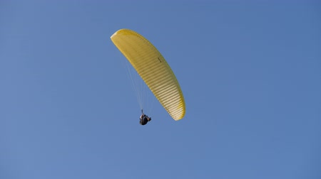 Paraglider. Glider on an inflatable wing.