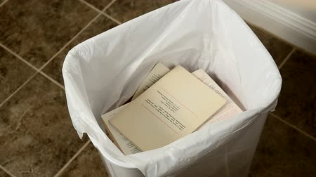 throwing away multiple paperback books