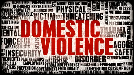 evcil : Domestic Violence Awareness and Stop It Concept