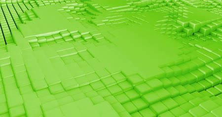 gradual : 3D Cubes Background Seamless Looping Abstract