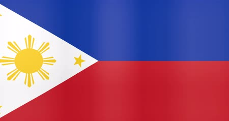 gradual : Waving Flag of Philippines Looping Background