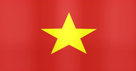 gradual : Waving Flag of Vietnam Looping Background