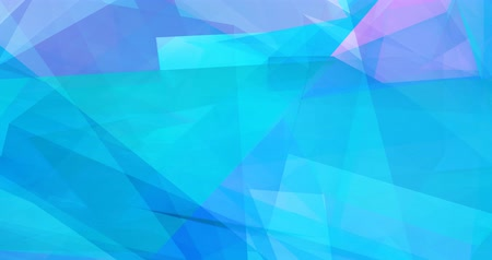 shattered : Colorful Abstract Background with Crystal Facets Concept Stock Footage