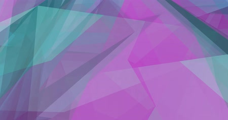 Colorful Abstract Background with Crystal Facets Concept Wideo