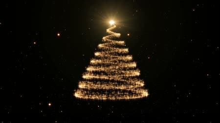 luminous christmas tree