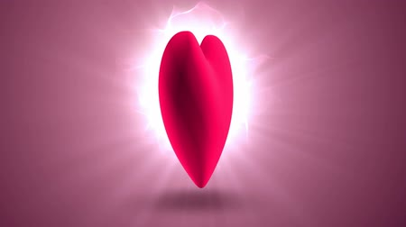 Роуз : heart rotating in the rays