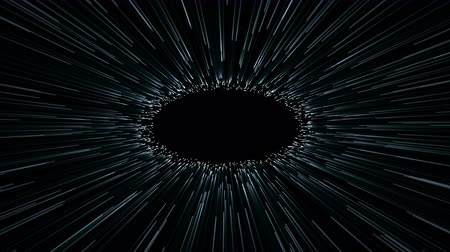 abstract scene of fly in space, wormhole or blackhole