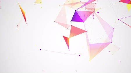 spojení : geometrical abstraction, colorful abstract geometric background